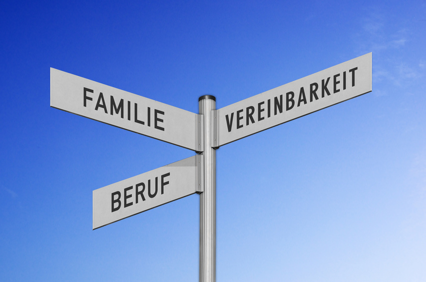 Wegweiser Familie-Beruf-Vereinbarkeit